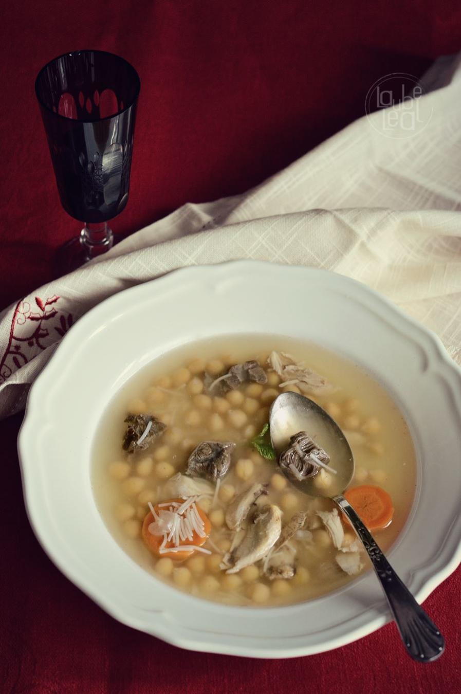 Sopa de Año Nuevo… o del día después