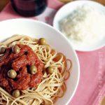 Spaguetti a la mediterránea