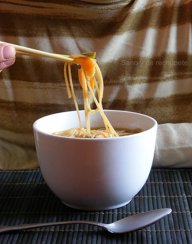 Sopa oriental…y tal