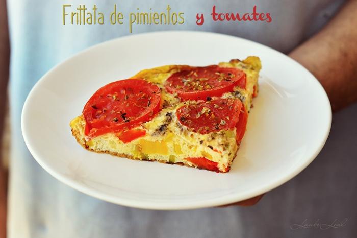 Frittata de pimientos y tomates laube leal for Plantar pimientos y tomates