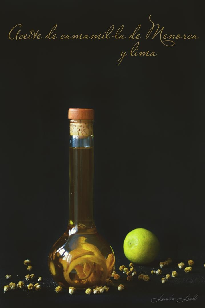 Aceite de camamil·la de Menorca y lima