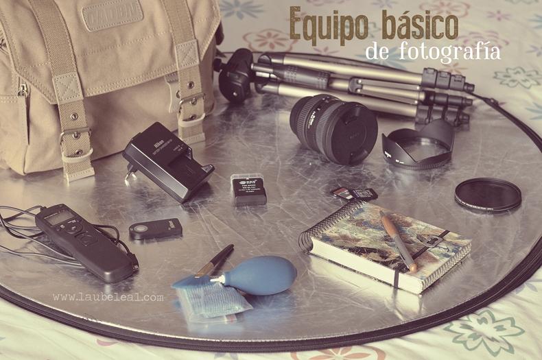 Mis básicos de fotografía para no profesionales (XII): para finalizar, hablemos del equipo básico