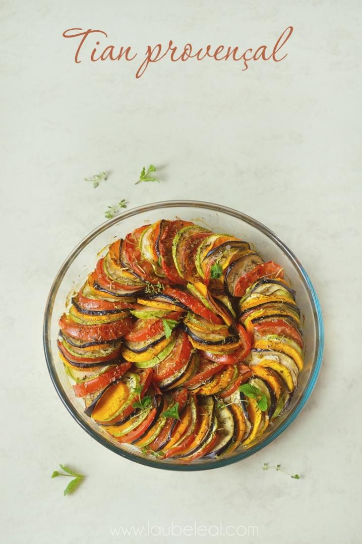 Tian provençal (un tanto especial): las verduras como protagonistas