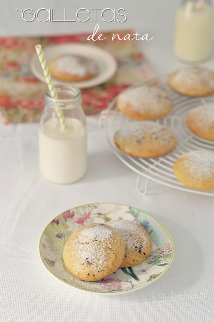 Galletas de nata, fáciles de hacer y deliciosas