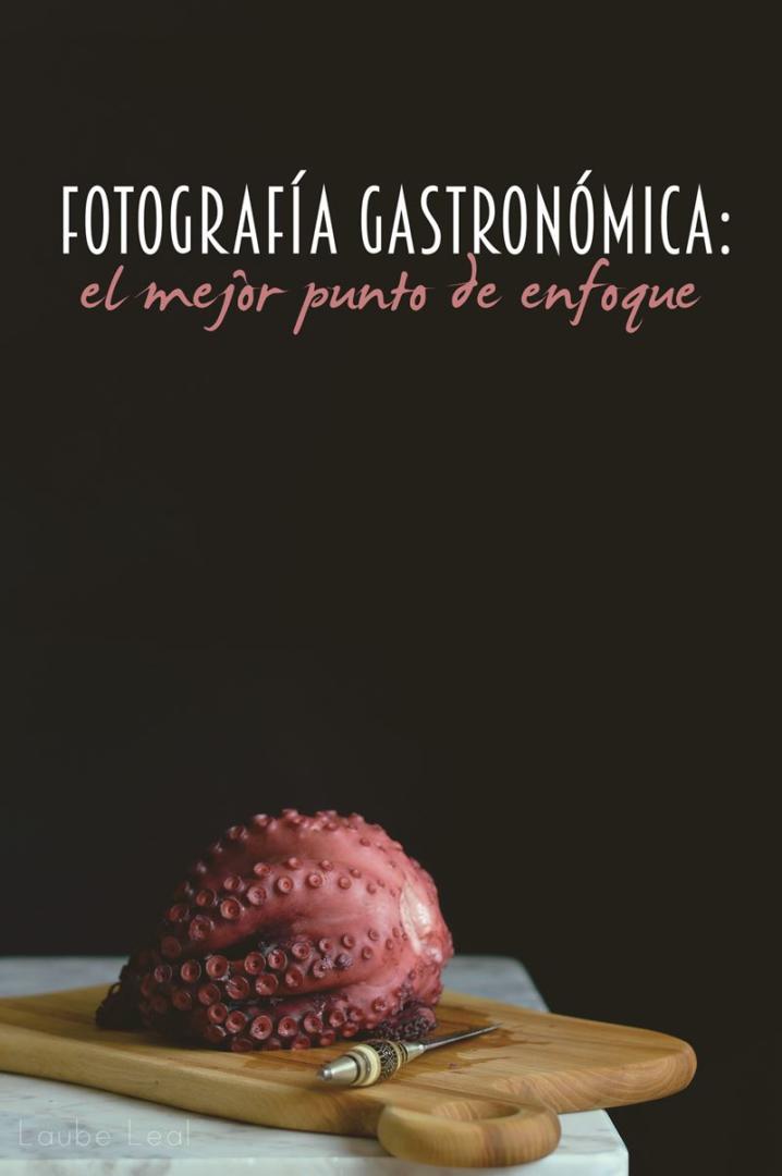 Ejemplos de enfoques distintos en fotografía gastronómica