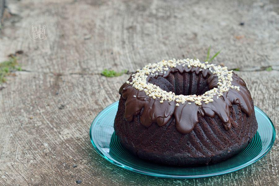 Un bundt cake de café y chocolate sobrenatural