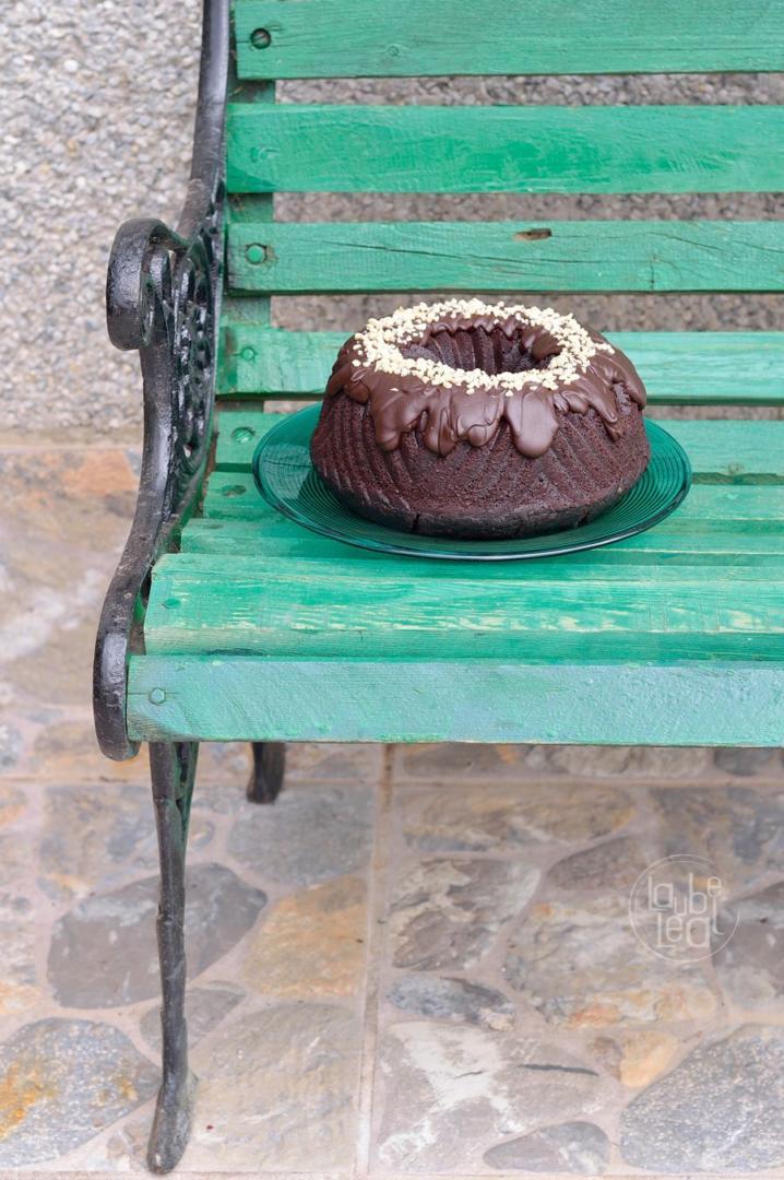 Bundt cake fabuloso de café y chocolate