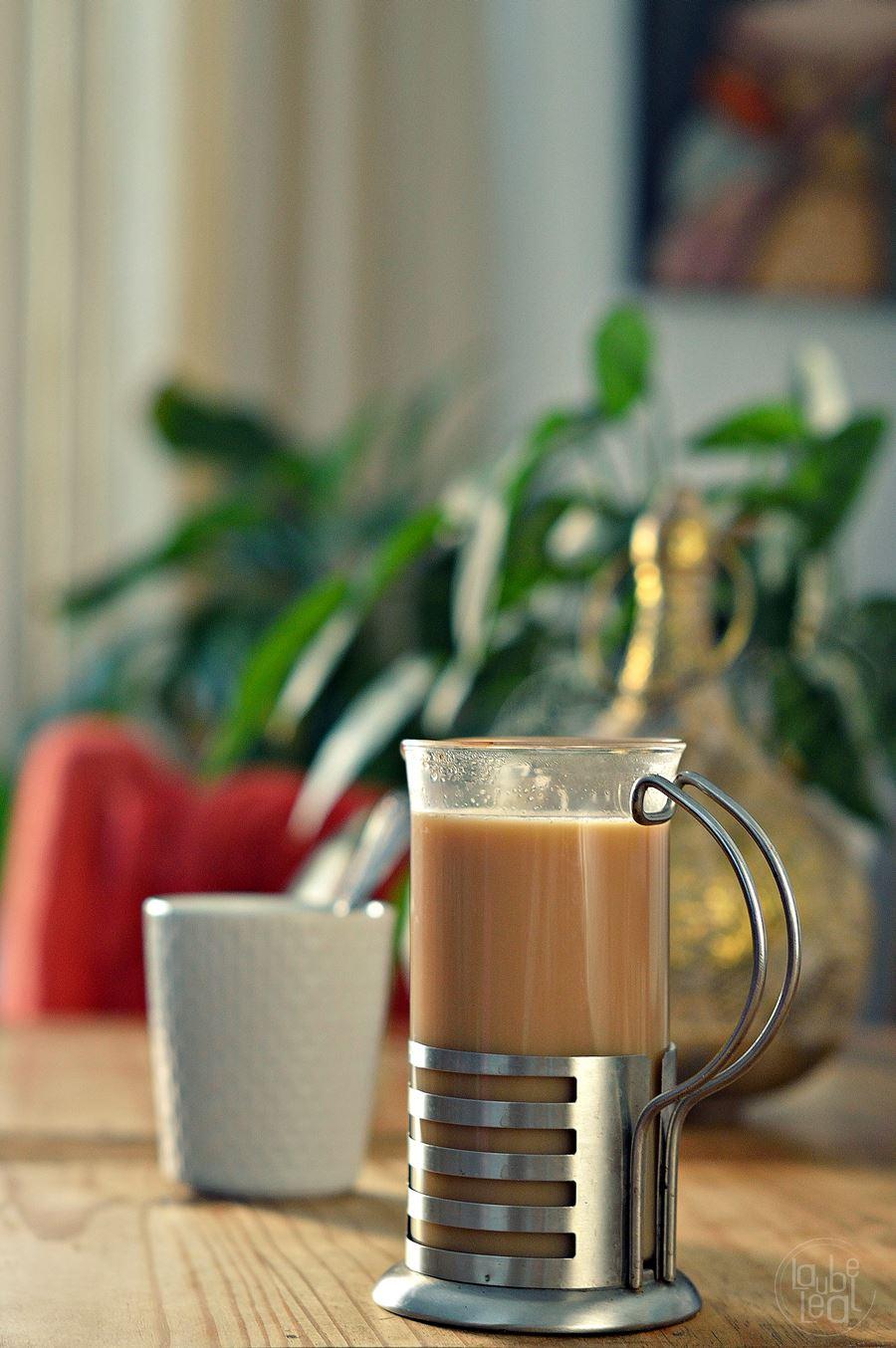 Masala chai, una tisana ayurvédica