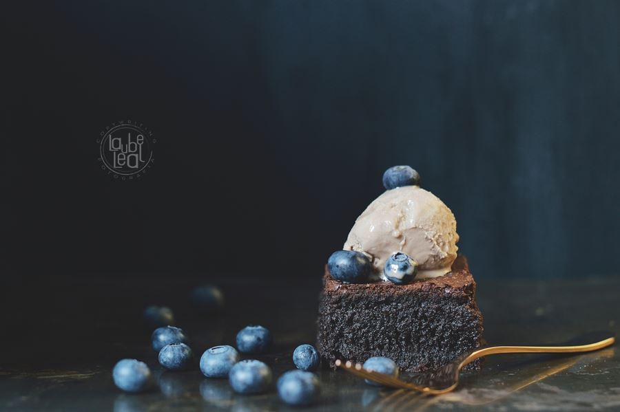 Brownie perfecto: con arándanos frescos y sin harina