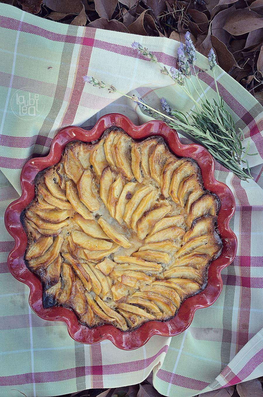 Tarta de manzanas increíble y fácil