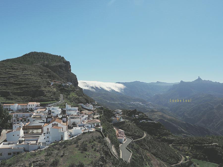Artenara es un municipio cuyo pueblo tiene estas hermosas vistas.