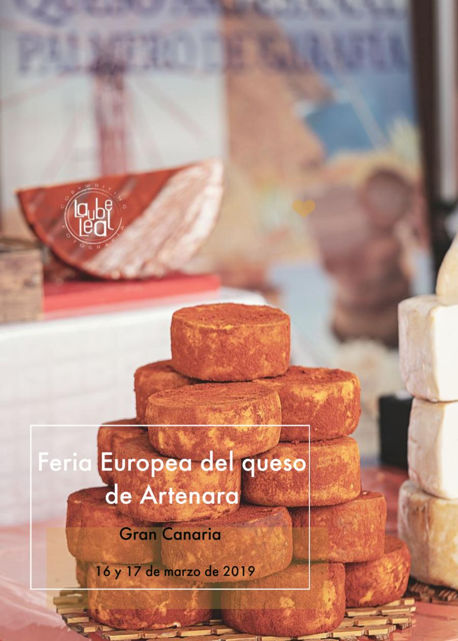 Feria Europea del Queso de Artenara 2019