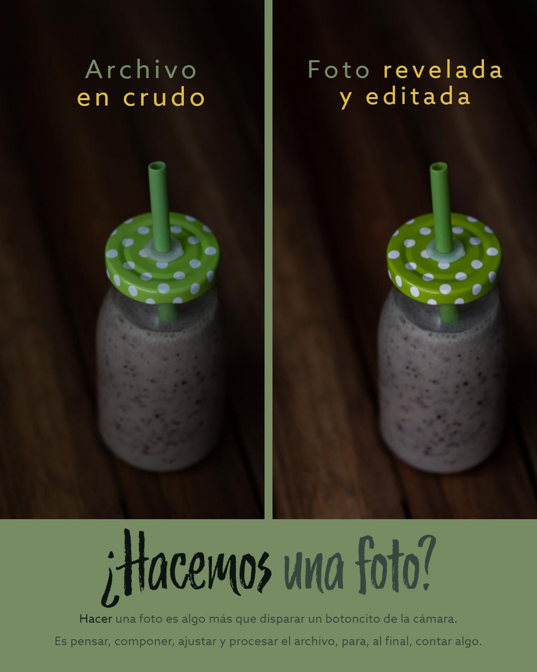 Fotografía gastronómica (XIII): paso a paso de la toma de una foto de alimentos