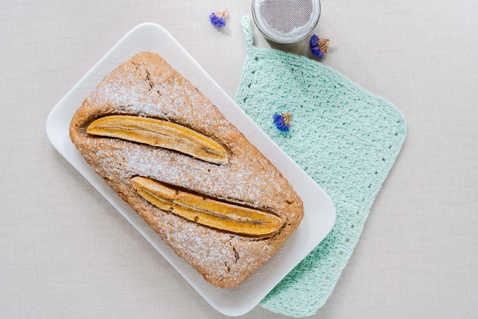 Queque de plátano o banana bread