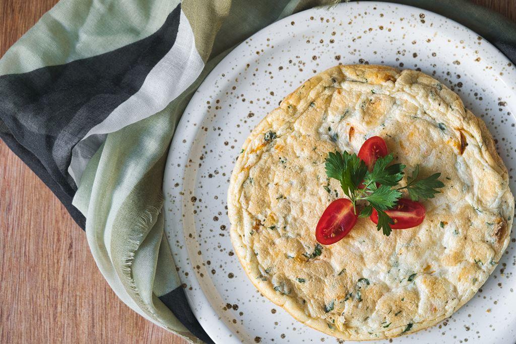 Tortilla francesa suflada