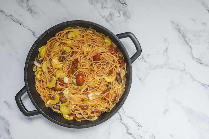 One pot pasta: la pasta con verduras más fácil del mundo